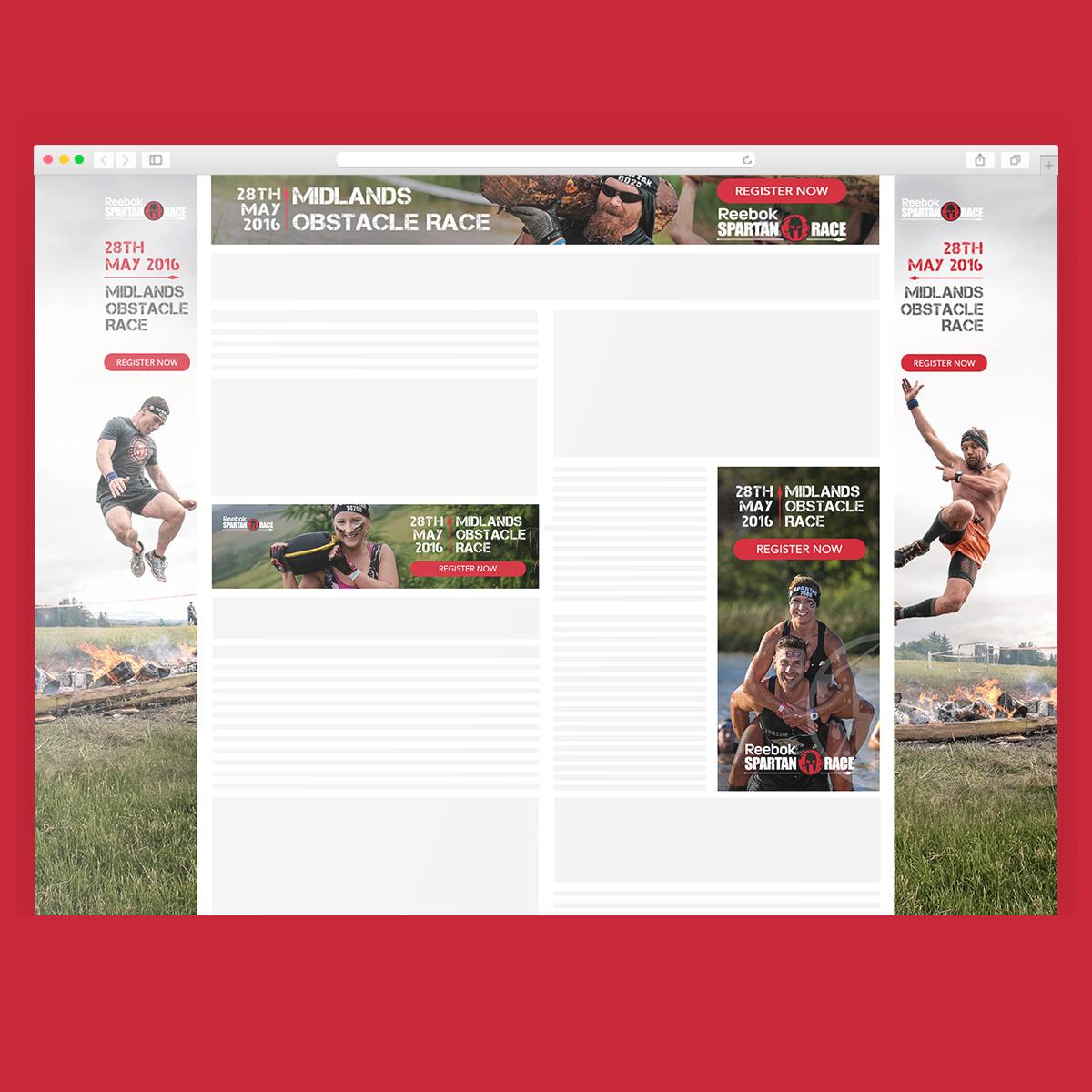 Display Ads: Spartan