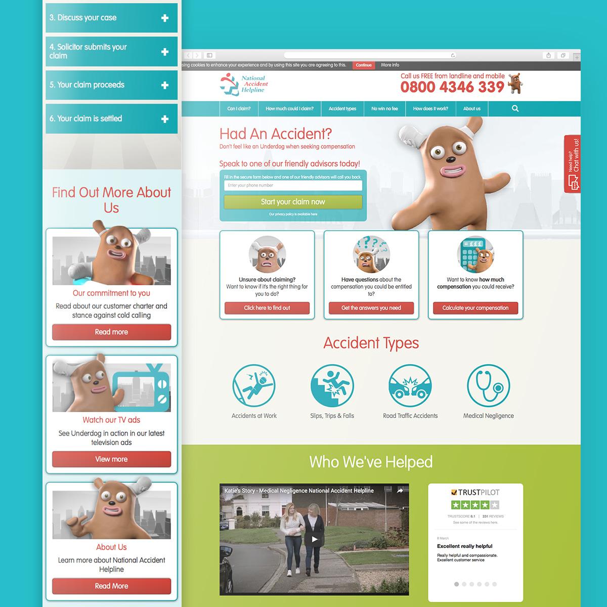 Web Design: Underdog