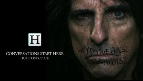 atom42's award winning campaign featuring Alice Cooper