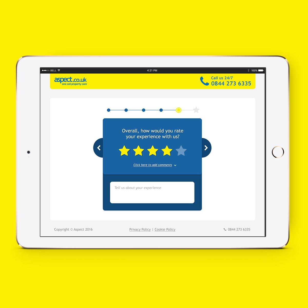 Web App: Aspect