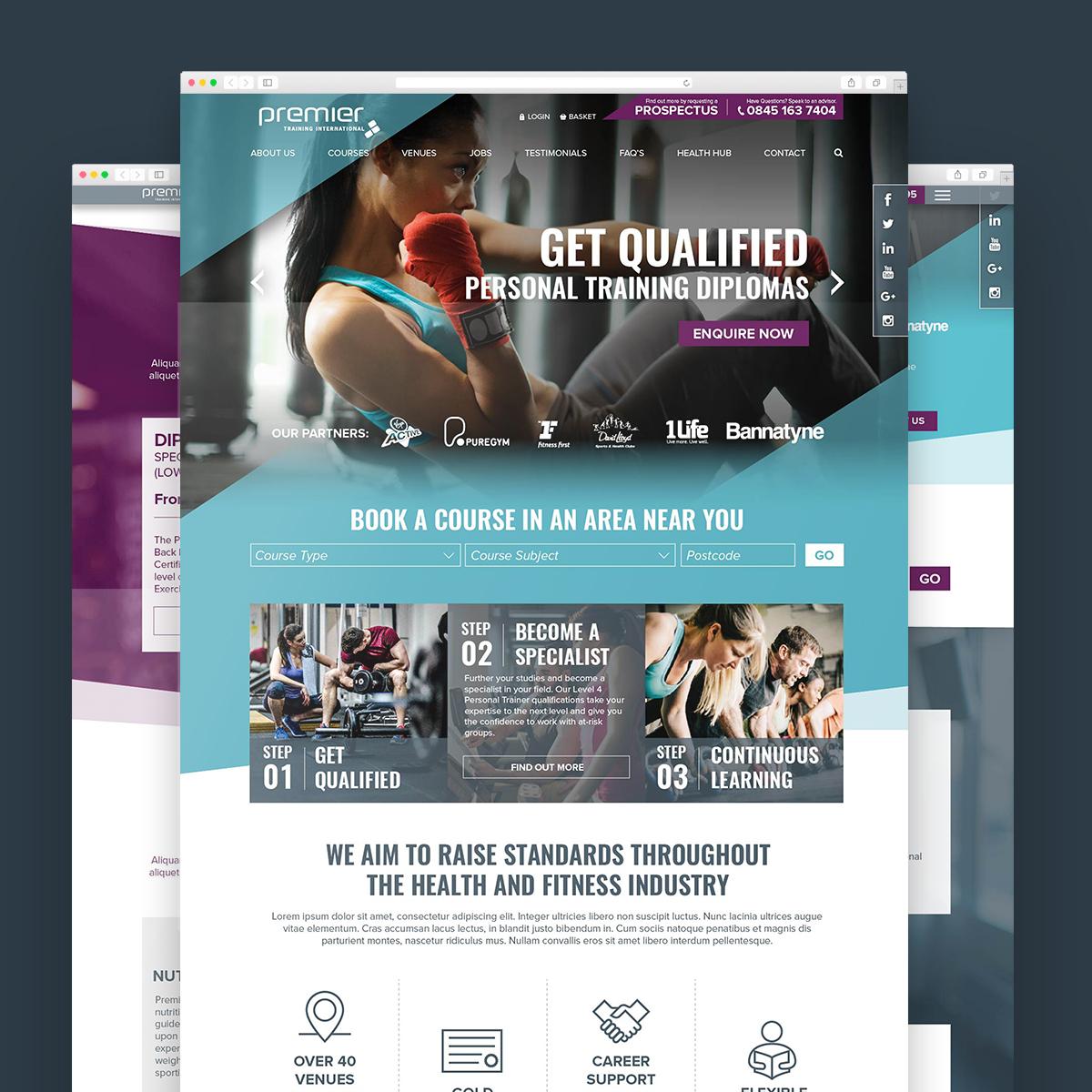 Web Design: Premier Global